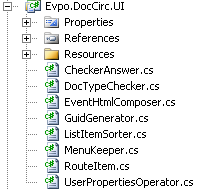 UI project files